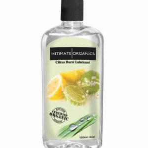 Intimate Organics Citrus Burst Lubricant 120ml