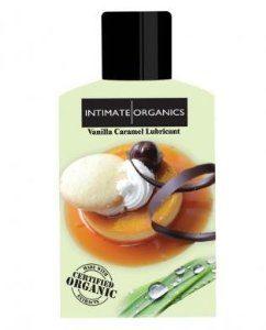 Intimate Organics vanila caramel Lubricant 4ml