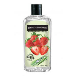Intimate Organics wild strawberries Lubricant 120ml